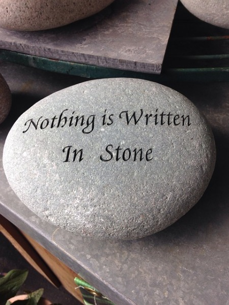 nothing-is-written-in-stone- pixabay