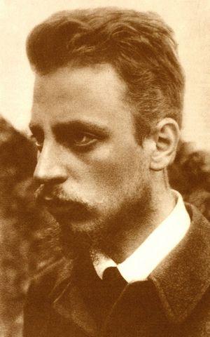 rainer maria Rilke 1900 pd